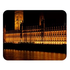 Houses Of Parliament Double Sided Flano Blanket (large)