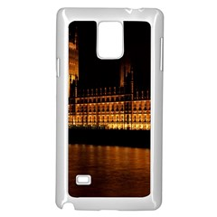 Houses Of Parliament Samsung Galaxy Note 4 Case (White)