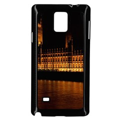 Houses Of Parliament Samsung Galaxy Note 4 Case (Black)