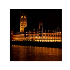 Houses Of Parliament Small Satin Scarf (square)