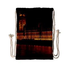 Houses Of Parliament Drawstring Bag (Small)