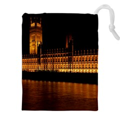 Houses Of Parliament Drawstring Pouches (xxl)