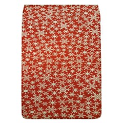 Holiday Snow Snowflakes Red Flap Covers (l)