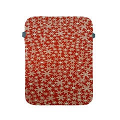 Holiday Snow Snowflakes Red Apple Ipad 2/3/4 Protective Soft Cases