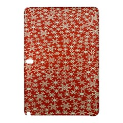 Holiday Snow Snowflakes Red Samsung Galaxy Tab Pro 10.1 Hardshell Case