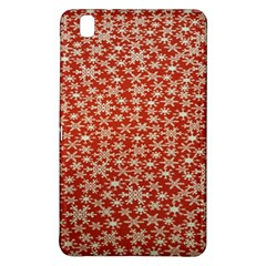 Holiday Snow Snowflakes Red Samsung Galaxy Tab Pro 8.4 Hardshell Case