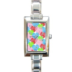 Holidays Occasions Valentine Rectangle Italian Charm Watch