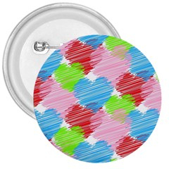 Holidays Occasions Valentine 3  Buttons