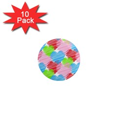 Holidays Occasions Valentine 1  Mini Magnet (10 Pack)