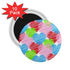 Holidays Occasions Valentine 2.25  Magnets (10 pack)