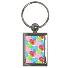 Holidays Occasions Valentine Key Chains (Rectangle)