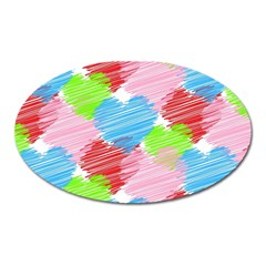 Holidays Occasions Valentine Oval Magnet