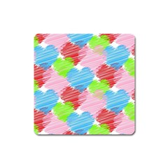 Holidays Occasions Valentine Square Magnet