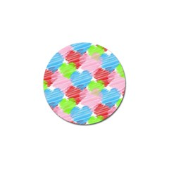Holidays Occasions Valentine Golf Ball Marker (10 Pack)
