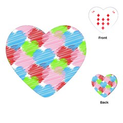 Holidays Occasions Valentine Playing Cards (Heart)