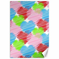 Holidays Occasions Valentine Canvas 12  x 18