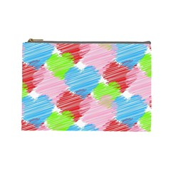 Holidays Occasions Valentine Cosmetic Bag (large)