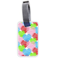 Holidays Occasions Valentine Luggage Tags (two Sides)