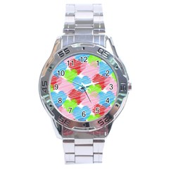 Holidays Occasions Valentine Stainless Steel Analogue Watch