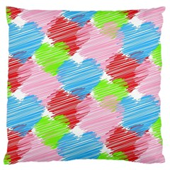 Holidays Occasions Valentine Large Cushion Case (one Side)