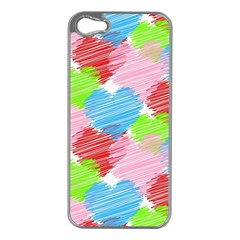 Holidays Occasions Valentine Apple iPhone 5 Case (Silver)