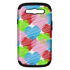 Holidays Occasions Valentine Samsung Galaxy S Iii Hardshell Case (pc+silicone)