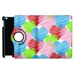Holidays Occasions Valentine Apple iPad 3/4 Flip 360 Case Front