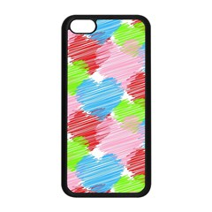 Holidays Occasions Valentine Apple Iphone 5c Seamless Case (black)