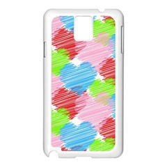 Holidays Occasions Valentine Samsung Galaxy Note 3 N9005 Case (white)