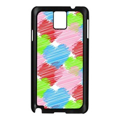 Holidays Occasions Valentine Samsung Galaxy Note 3 N9005 Case (black)