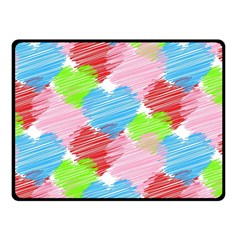 Holidays Occasions Valentine Double Sided Fleece Blanket (Small)