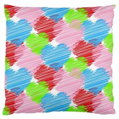 Holidays Occasions Valentine Large Flano Cushion Case (One Side)
