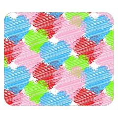 Holidays Occasions Valentine Double Sided Flano Blanket (small)