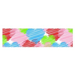 Holidays Occasions Valentine Satin Scarf (Oblong)