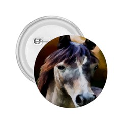 Horse Horse Portrait Animal 2.25  Buttons