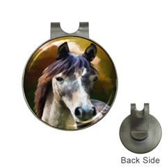 Horse Horse Portrait Animal Hat Clips With Golf Markers