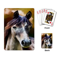 Horse Horse Portrait Animal Playing Card