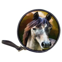 Horse Horse Portrait Animal Classic 20 Cd Wallets