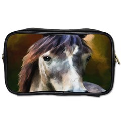 Horse Horse Portrait Animal Toiletries Bags