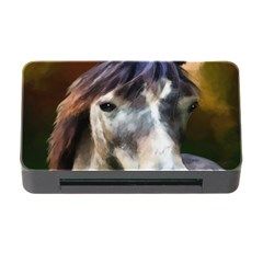 Horse Horse Portrait Animal Memory Card Reader With Cf