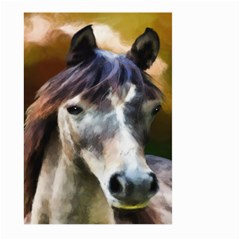 Horse Horse Portrait Animal Large Garden Flag (Two Sides)