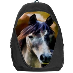 Horse Horse Portrait Animal Backpack Bag