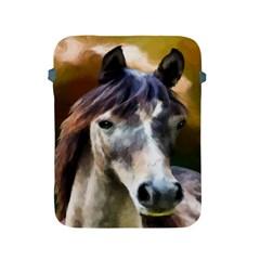 Horse Horse Portrait Animal Apple Ipad 2/3/4 Protective Soft Cases