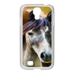Horse Horse Portrait Animal Samsung Galaxy S4 I9500/ I9505 Case (white)