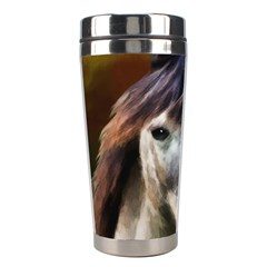 Horse Horse Portrait Animal Stainless Steel Travel Tumblers