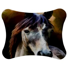 Horse Horse Portrait Animal Jigsaw Puzzle Photo Stand (bow)