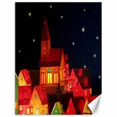Market Christmas Light Canvas 18  X 24