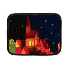 Market Christmas Light Netbook Case (Small)