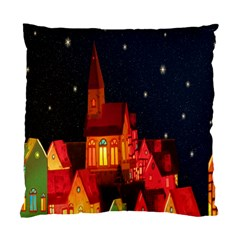 Market Christmas Light Standard Cushion Case (One Side)