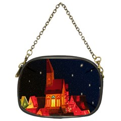Market Christmas Light Chain Purses (two Sides)